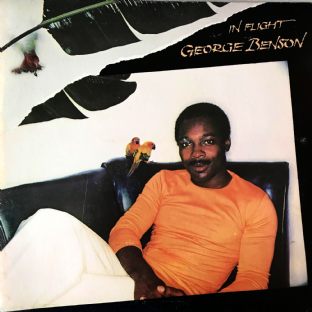 George Benson - In Flight (LP) (VG-/VG-)